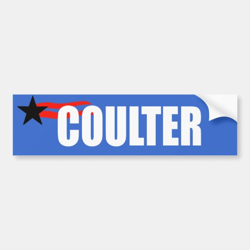 COULTER Election Gear Bumper Stickers