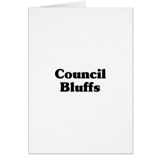Council Bluffs Classic t shirts Cards