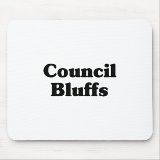 Council Bluffs Classic t shirts Mouse Pad