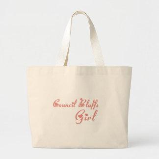 Council Bluffs Girl tee shirts Tote Bag