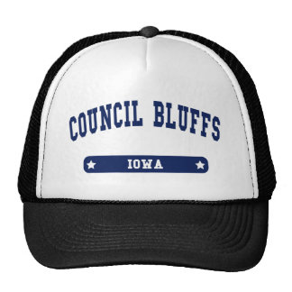 Council Bluffs Iowa College Style tee shirts Hat