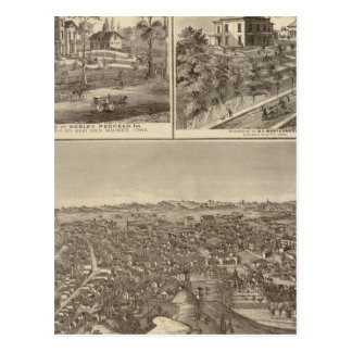 Council Bluffs Postcard