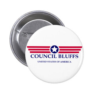 Council Bluffs Pride 6 Cm Round Badge
