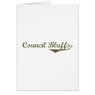 Council Bluffs Revolution t shirts Greeting Card