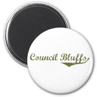 Council Bluffs Revolution t shirts Fridge Magnet