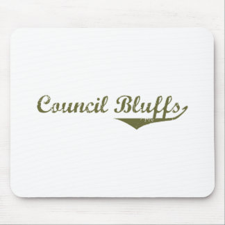 Council Bluffs Revolution t shirts Mouse Pad