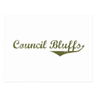 Council Bluffs Revolution t shirts Postcard