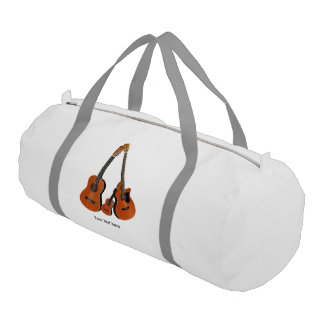 Counrty Folk Music Acoustic Instruments Gym Bag