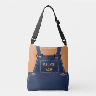 Counrty Folk Overalls Custom CBB Crossbody Bag