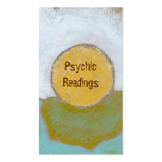 Counseling advice guidance funky unique psychic pack of standard business cards