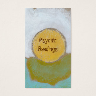 Counseling advice guidance funky unique psychic business card