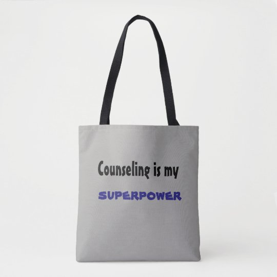 Counseling is my Superpower bag