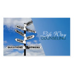 Counseling, Life Coach, Therapy, Therapist, Business Card Template