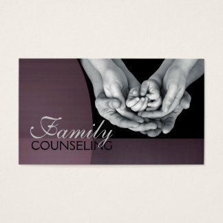 Counseling, Therapist, Spiritual, Life Coach, Business Card