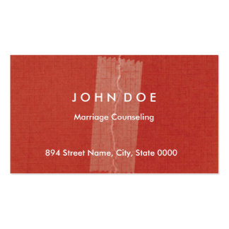 Counselor Business Card Templates