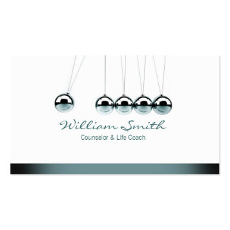 Counselor & Life Coach Business Card Template