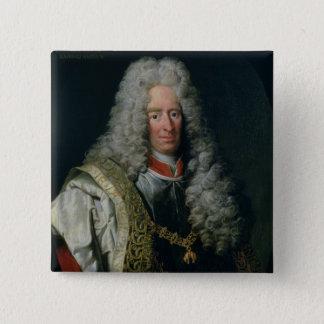 Count Alois Thomas Raimund von Harrach 15 Cm Square Badge