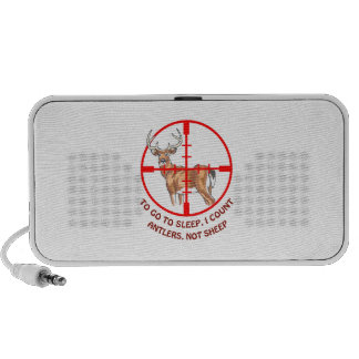 COUNT ANTLERS NOT SHEEP PORTABLE SPEAKER