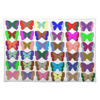 COUNT Butterflies n also LEARN Colors - Kid Stuff Placemat