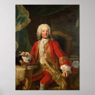 Count Carl Anton von Harrach Poster