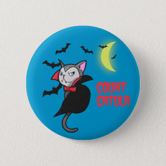 Count Catula Pun Illustration 6 Cm Round Badge
