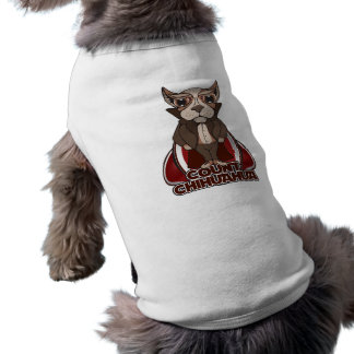 Count Chihuahua Dog-shirt Sleeveless Dog Shirt