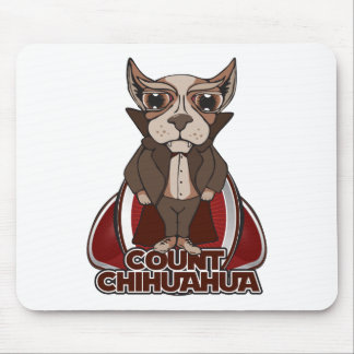 Count Chihuahua Mouse Mat