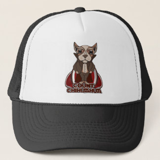 Count Chihuahua Trucker Hat