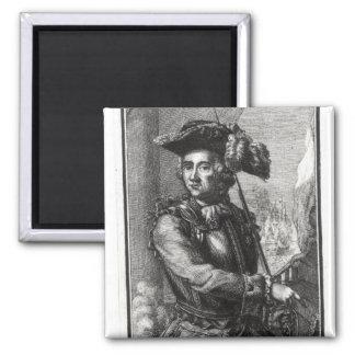 Count Claude de Forbin Square Magnet