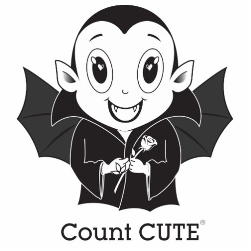 Count Cute® Photo Cut Out