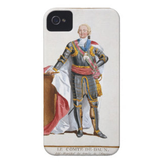 Count de Daun, General of Armies of the Holy Roman iPhone 4 Cases