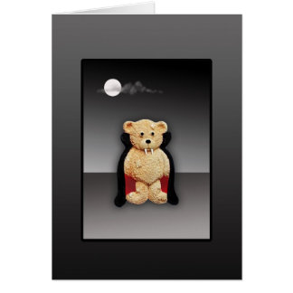 Count Dracula - Halloween Greeting Card