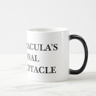 COUNT DRACULA'S PERSONAL SPIT RECEPTACLE MUGS