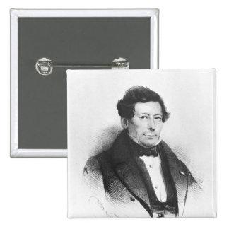 Count Felix de Merode  1837 15 Cm Square Badge