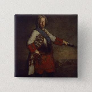 Count Friedrich Heinrich von Seckendorf, 1720 15 Cm Square Badge