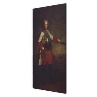 Count Friedrich Heinrich von Seckendorf, 1720 Canvas Print