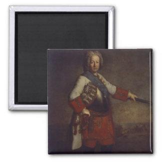 Count Friedrich Heinrich von Seckendorf, 1720 Square Magnet