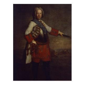 Count Friedrich Heinrich von Seckendorf, 1720 Postcard
