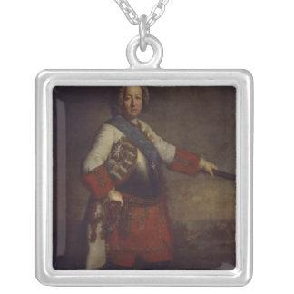 Count Friedrich Heinrich von Seckendorf, 1720 Silver Plated Necklace
