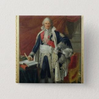 Count Jean-Etienne-Marie Portalis  1806 15 Cm Square Badge