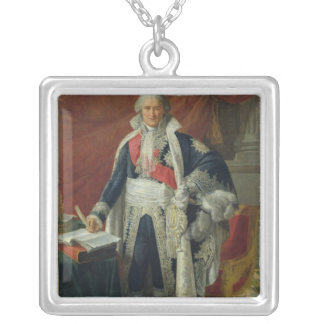 Count Jean-Etienne-Marie Portalis  1806 Silver Plated Necklace