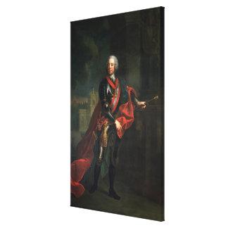 Count Leopold Joseph von Daun Canvas Print