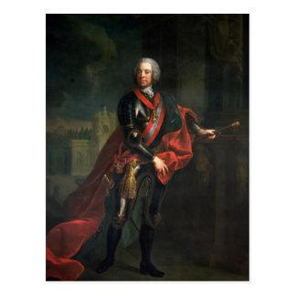 Count Leopold Joseph von Daun Postcard