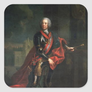 Count Leopold Joseph von Daun Square Sticker