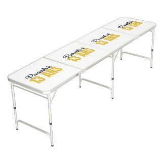 Count of tournaments PA13A Beer Pong Table