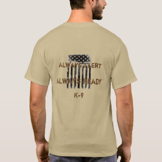 Count on K9 shirt