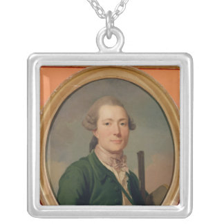 Count Pierre-Francois de Cluzel  in Hunting Silver Plated Necklace