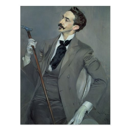 Count Robert de Montesquiou  1897 Postcard