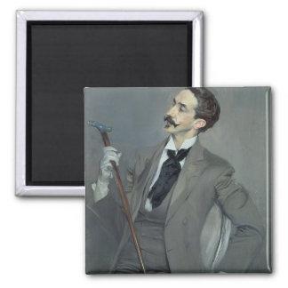 Count Robert de Montesquiou  1897 Square Magnet