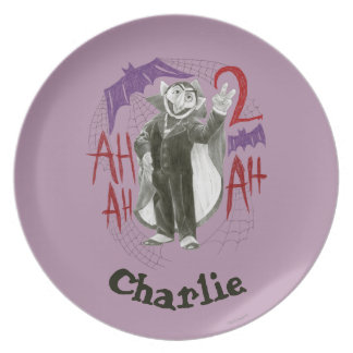 Count von Count B&W Sketch | Add Your Name Plate